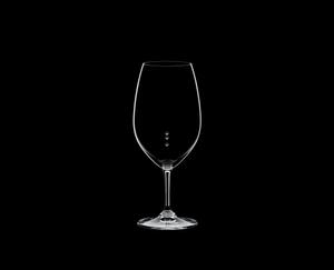 RIEDEL Restaurant Syrah Pour Line OZ on a black background