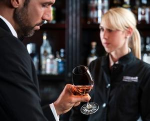RIEDEL Drink Specific Glassware All Purpose Glass in use