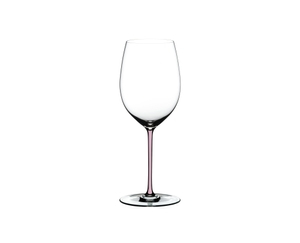 RIEDEL Fatto A Mano Cabernet Pink on a white background