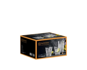 NACHTMANN Square Tumbler Set/4 in the packaging
