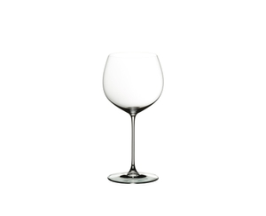 RIEDEL Veritas Restaurant Oaked Chardonnay on a white background