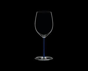 RIEDEL Fatto A Mano R.Q. Cabernet/Merlot Dark Blue on a black background