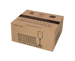 RIEDEL Restaurant O Champagne Glass in the packaging