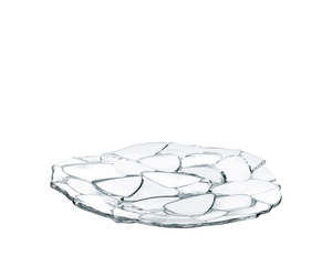NACHTMANN Petals Charger Plate (32 cm / 12 3/5 in) on a white background