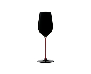 RIEDEL Black Series Collector's Edition Riesling Grand Cru Black/Red/Black on a white background