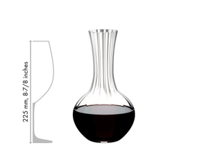 RIEDEL Decanter Performance in relation to another product