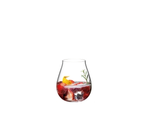RIEDEL Gin Set Contemporary filled with a drink on a white background