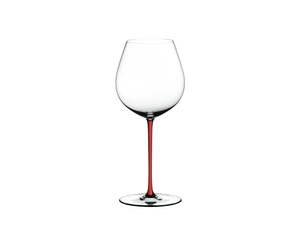 RIEDEL Fatto A Mano Pinot Noir Red on a white background