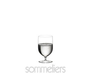 RIEDEL Sommeliers Water filled with a drink on a white background
