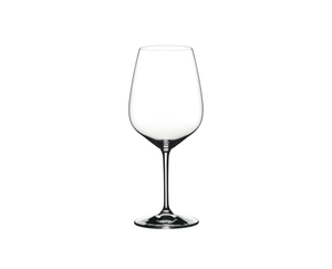 RIEDEL Heart To Heart Cabernet Sauvignon on a white background