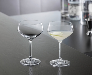 SPIEGELAU Perfect Serve Coupette Glass im Einsatz