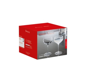 SPIEGELAU Perfect Serve Coupette Glass in der Verpackung