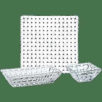 NACHTMANN Bossa Nova Serving Set Mix on a white background