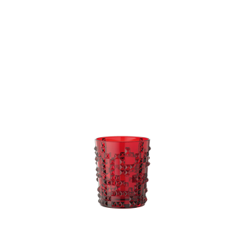 NACHTMANN Punk Whisky Tumbler Ruby on a white background