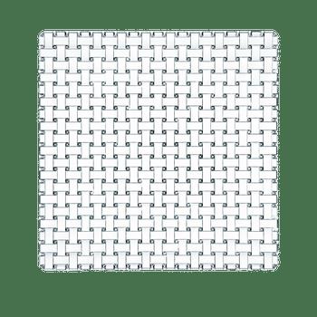 NACHTMANN Bossa Nova Plate square (28 cm / 11 in) on a white background