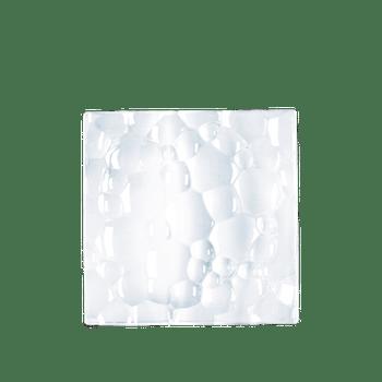 NACHTMANN Sphere Platte quadratisch (21 cm / 8 1/4 in) auf weißem Hintergrund