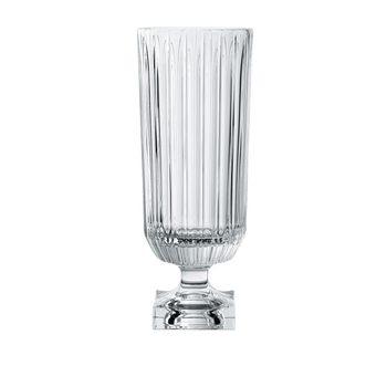 NACHTMANN Minerva Footed Vase - tall on a white background