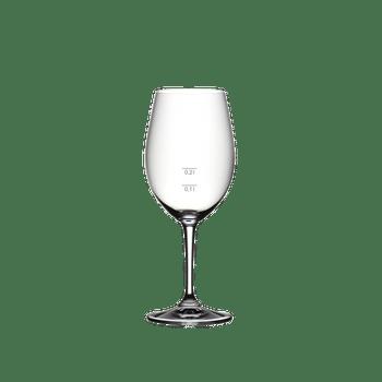RIEDEL Degustazione Rotwein 0,1 l + 0,2 l auf weißem Hintergrund