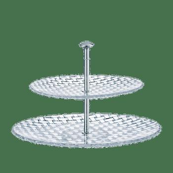 NACHTMANN Bossa Nova Two-Tier-Tray large on a white background