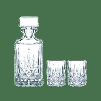 NACHTMANN Noblesse Whisky Set on a white background