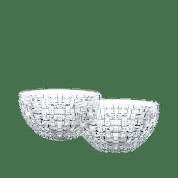 NACHTMANN Bossa Nova Bowl round (18 cm / 7 in) Set/2 on a white background