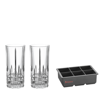 SPIEGELAU PERFECT SERVE ICE CUBE SET on a white background
