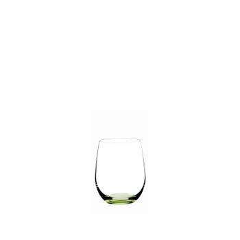 RIEDEL Restaurant O Happy O Grün auf weißem Hintergrund