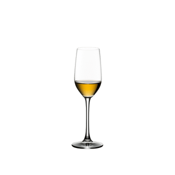 RIEDEL Bar Tequila filled with a drink on a white background
