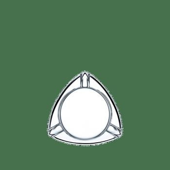 NACHTMANN Cigar Ashtray Triangular on a white background