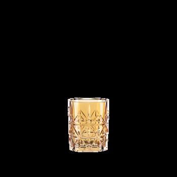 NACHTMANN Highland Tumbler Amber on a white background
