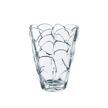 NACHTMANN Petals Vase oval (22 cm / 8 2/3 in) on a white background