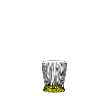RIEDEL Tumbler Collection Fire Whisky Easter Yellow on a white background