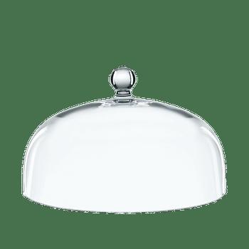 NACHTMANN Bossa Nova Dome for Cake Plate on a white background