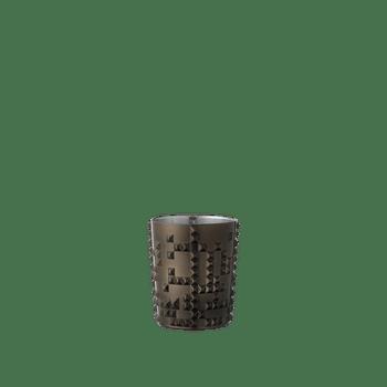 NACHTMANN Punk Whisky Tumbler Gun Metal auf weißem Hintergrund