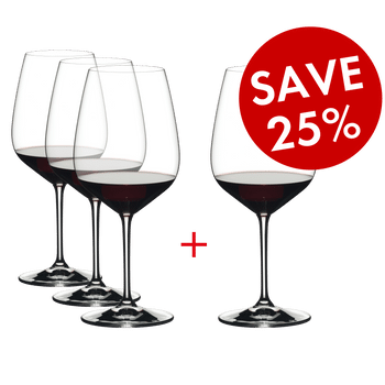 RIEDEL Extreme Cabernet Pay 3 Get 4