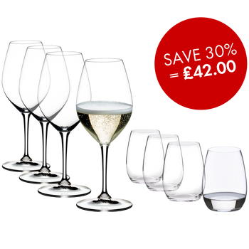 RIEDEL Vinum Champagne Wine Glass Set