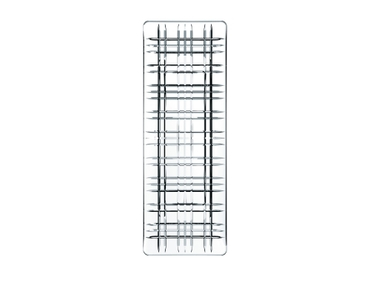 NACHTMANN Square Plate Rectangular (42 cm / 16.5 in) on a white background