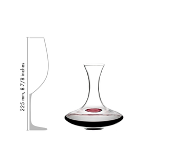 RIEDEL Decanter Ultra Mini in relation to another product