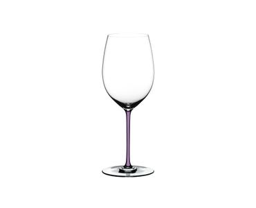 RIEDEL Fatto A Mano Cabernet/Merlot Opalviolett auf weißem Hintergrund