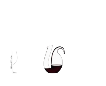 RIEDEL Decanter Ayam Black a11y.alt.product.filled_white_relation