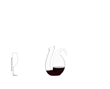 RIEDEL Decanter Ayam R.Q. a11y.alt.product.filled_white_relation
