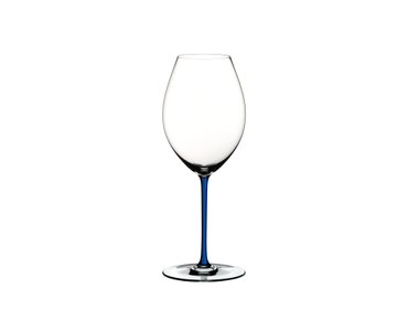 RIEDEL Fatto A Mano Syrah Dark Blue on a white background