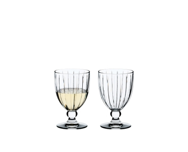 RIEDEL Sunshine All Purpose Glass filled with a drink on a white background