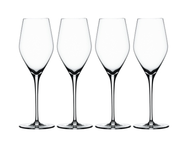 SPIEGELAU Special Glasses Prosecco on a white background