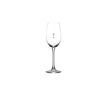 RIEDEL Restaurant Champagne Glass Pour Line OZ on a white background