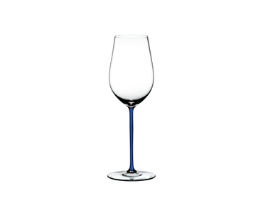 RIEDEL Fatto A Mano Riesling/Zinfandel Dark Blue on a white background