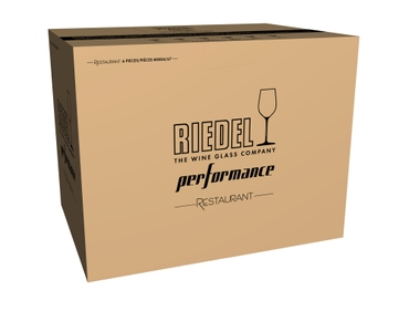 RIEDEL Performance Restaurant Pinot Noir in the packaging