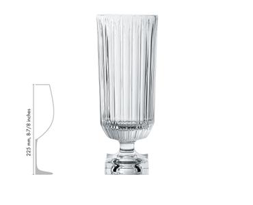 NACHTMANN Minerva Footed Vase - Groß im Verhältnis zu einem anderen Produkt