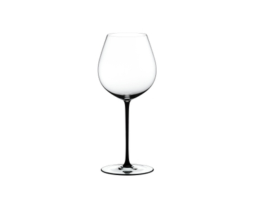 RIEDEL Fatto A Mano Pinot Noir Black on a white background