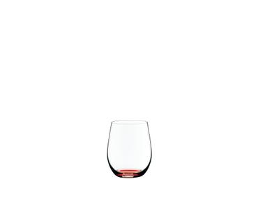 RIEDEL Restaurant O Happy O Zinnoberrot auf weißem Hintergrund